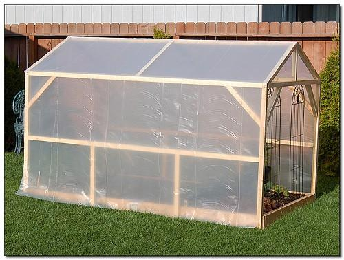 Homemade Greenhouse Selecting Best Covering