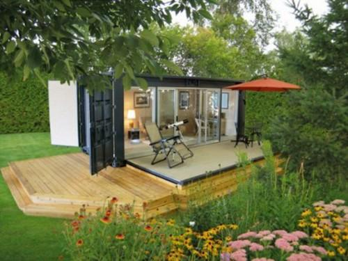 Homes Course There Both Pros Cons Cargo Container Home
