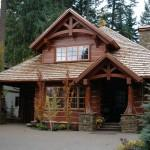 Homes Handcrafted Timber Frame Home Caribou Creek Log