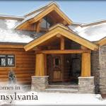 Homes New York Pennsylvania Rustic Log Timber Frame