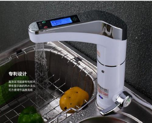Hot Water Heater Home Kitchen Instant Tap Tankless