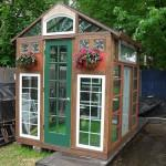 Houses Homemade Greenhouses House Sunrooms Gardens Yards