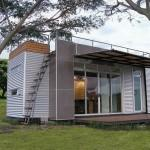 Houses Made Out Shipping Containers Sliding Glass Door