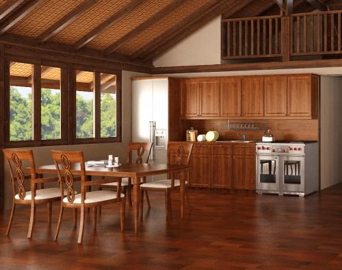 Houses Teak Kitchens Cabinetry Our Creative Design Potential