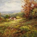 Hulsey Paintings Green Grass Home Painting
