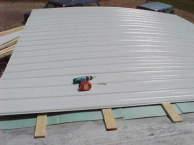 Inexpensive Metal Roof Can Install Yourself