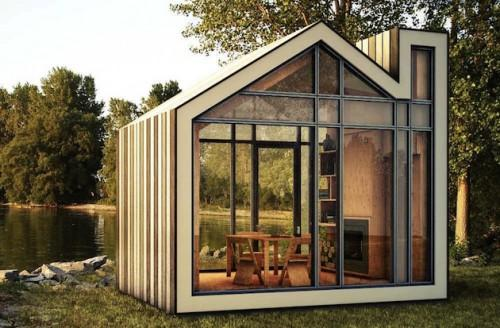 Innovative Puzzle Small Prefab Homes