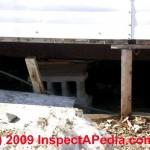 Inspect Mobile Home Doublewide Piers Stabilizers Tie Downs