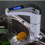 Intelligent Lcd Electric Faucet Hot Water Heater Home Kitchen