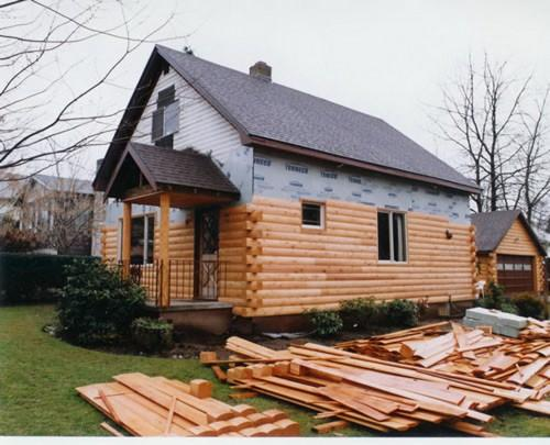 Interesting Log Siding Could Very Well Repo Mobile Home