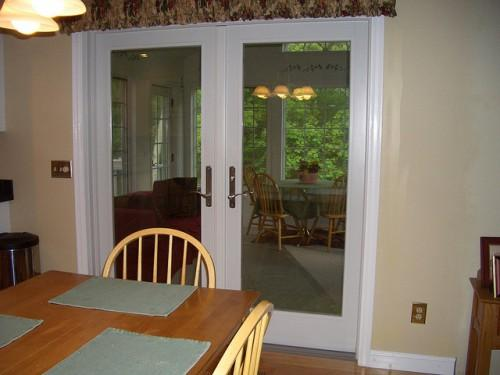 Interior French Doors Door Closet
