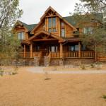 Jaw Dropping American Ranch Log Home Builders