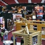 Johnson Log Home Timber Frame Show