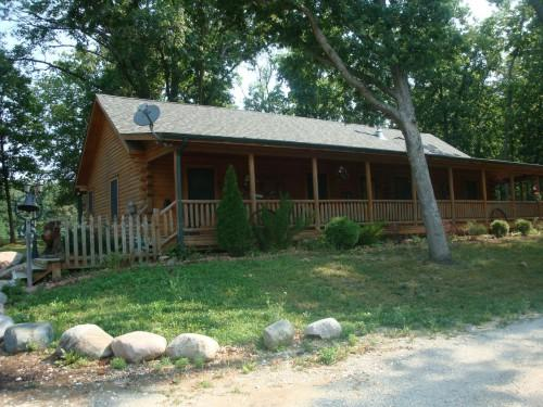 Just Listed Log Home Sale Lafayette Indiana Acres