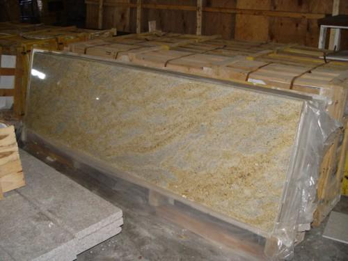 Kashmir Gold Prefabricated Granite Countertops