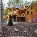 Katahdin Cedar Log Home Stoneham