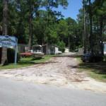 Kimbrel Pines Mobile Home Park Entrance
