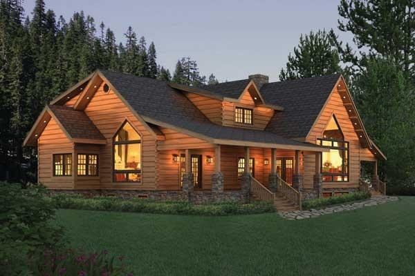 Kuhns Bros Log Homes Inc Pleasant Grove Home Plan