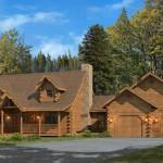 Kuhns Bros Log Homes Swatara Home Plan