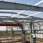 Large Prefab Industrial Steel Buildings Fabrication