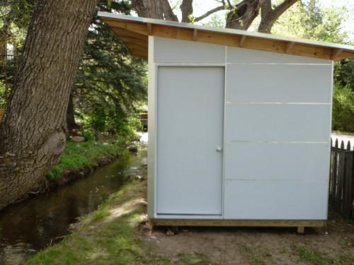Learn More These Modern Prefab Studio Sheds