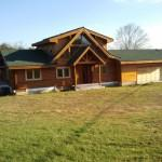 Lindal Log Home Hedgesville Sale Winchester Virginia
