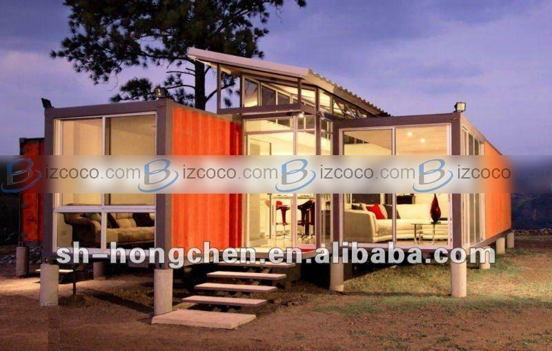 Living Shipping Prefab Steel Container Home Sale Min Order