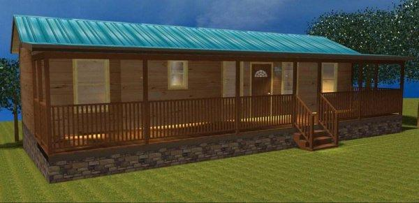 Log Cabin Home Plans Modular