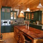 Log Cabin Kitchens Photos Golden Eagle Homes Home