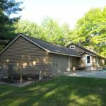 Log Cabin Lane Gaylord Home Sale