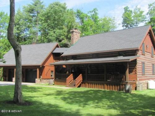 Log Cabin Lane Lock Haven Homes Sale