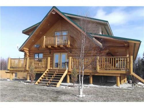Log Cabin Style Home Sale Acres