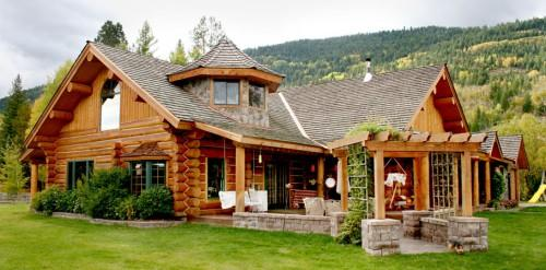 Log Cabin Style Homes