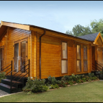 Log Cabin Style Mobile Homes Fallcreekland