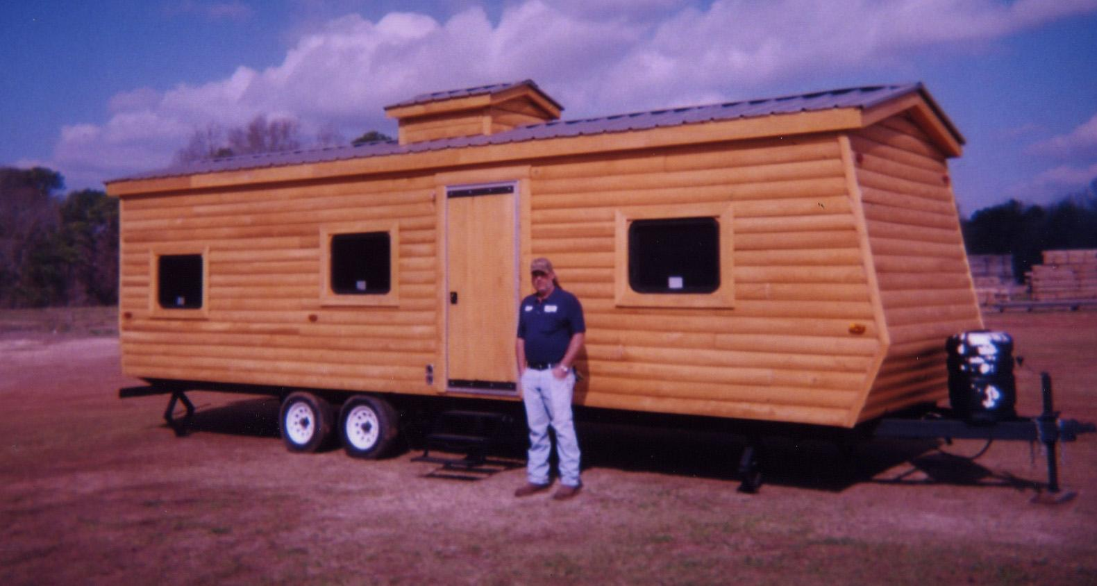 Log Cabins Mobile Homes
