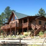 Log Home Acres Red Feather Lakes Colorado Coloardo Mountain