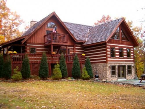 Log Home Additions Timber Frame