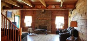 Log Home Decorating Ideas Cabin Makeover Room