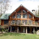 Log Home Design Center Valley Details