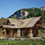 Log Home Floor Plan Upland Retreat