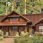 Log Home Floor Plans Santa Cruz
