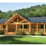 Log Home Floorplan Swan Valley