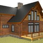Log Home Floorplans