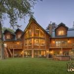 Log Home Golden Eagle Homes Lakeside