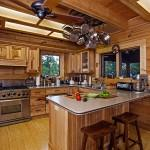 Log Home Interiors Cabin Decorating Ideas Modern