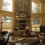 Log Home Interiors Can