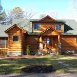 Log Home Lake Gaston Becomes Reality