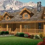 Log Home Layouts Plans House Small Cabin