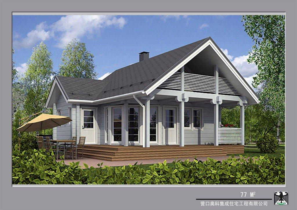 Log Home Look Modular Homes
