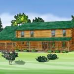 Log Home Modular Builders Homes